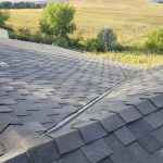 Picture of roof with new shingles