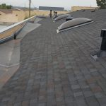 Newly finished roof