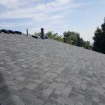 Grey roof peak