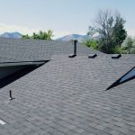 Different levels of roofing